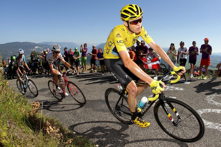 Christopher Froome in 2016. Beeld Getty Images