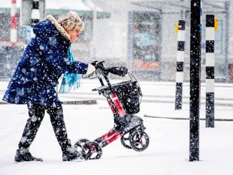 LIVE | Sneeuwfront trekt richting noord-oosten van het land