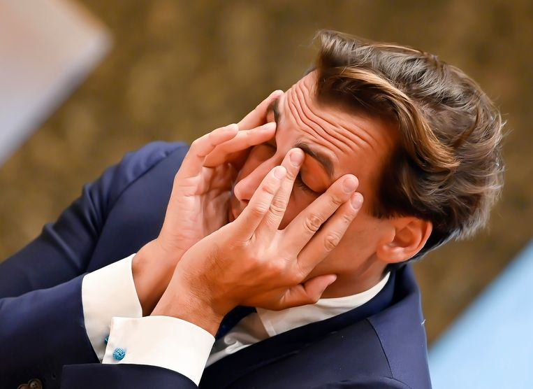 Thierry Baudet. Beeld BSR Agency