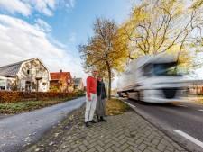 Provincie vindt het sluipverkeer op N640 bij Hoeven wel meevallen