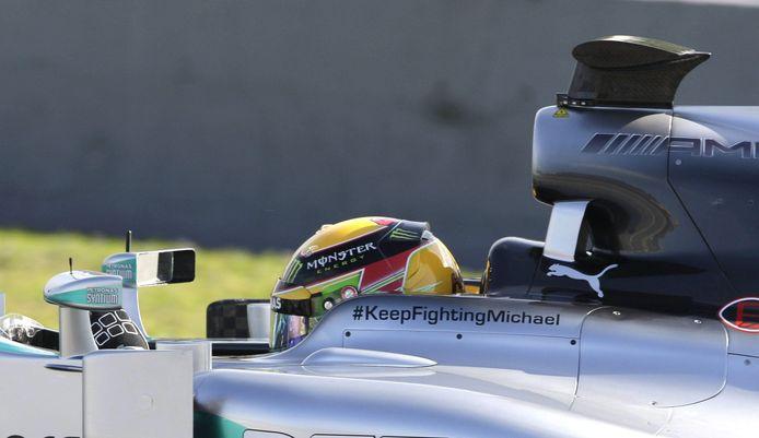 2014: Lewis Hamilton pakt zijn eerste wereldtitel in dienst van Mercedes, een team dat nog in shock was na het ernstige ski-ongeluk van Michael Schumacher.