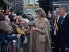 La Reine Mathilde est allée à la rencontre des Hutois