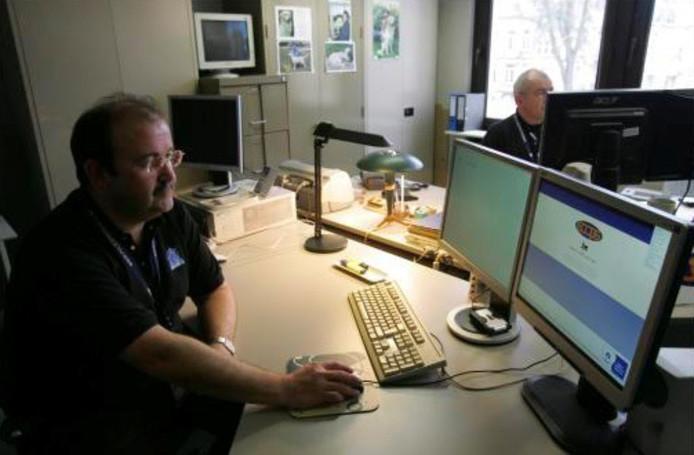 Des agents de la Crime Computer Unit (archives).