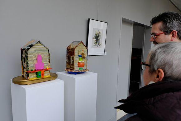 De werken van Andrea Janssens zijn te bewonderen in het gemeentehuis van Rumst