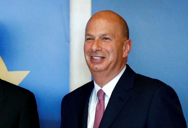 De Amerikaanse ambassadeur in Brussel Gordon Sonland. Beeld Reuters