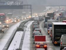 Dit weekend veel drukte op de wegen naar de sneeuw