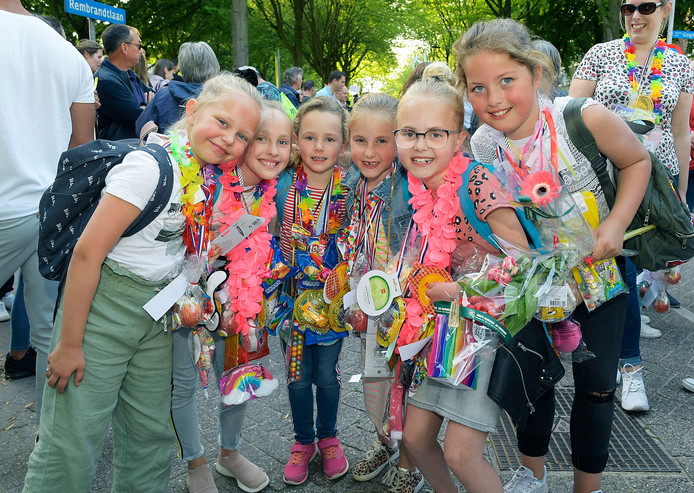 Bijna duizend Papendrechters liepen deze week mee aan de avondvierdaagse.