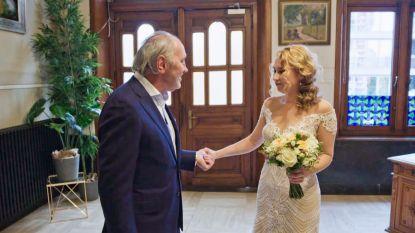 """Jolien trouwde met friturist Lenny in 'Blind Getrouwd': """"Ik in de frituur? Euh, vraag me dat later nog eens"""""""