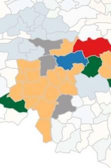Check hier de uitslagen van de verkiezingen in Brabant