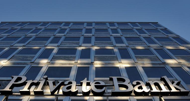 Een Zwitserse bank in Genève. Beeld afp