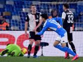 Napoli brengt rivaal Juventus gevoelige tik toe