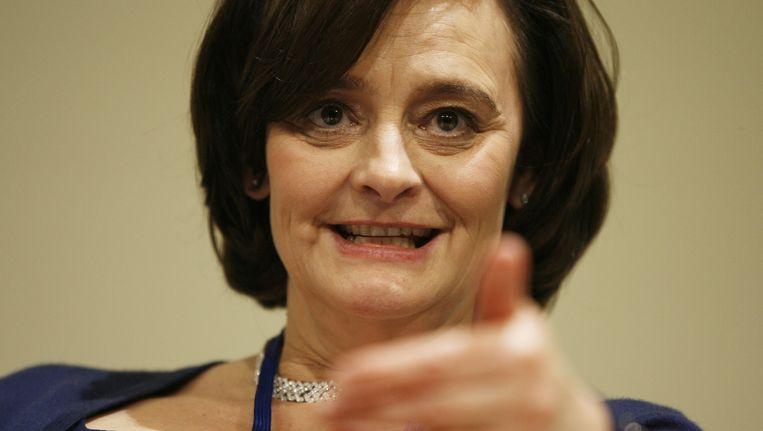 Cambell vermoedt dat ook de vrouw van Tony Blair, Cherie, is afgeluisterd. Beeld AFP