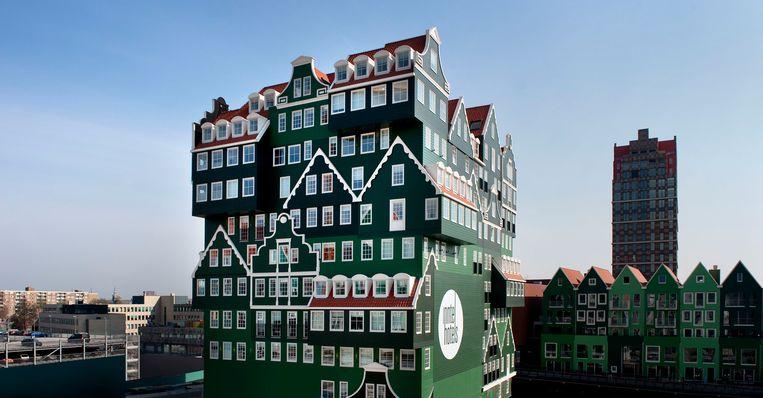 De binnenstad van Zaandam.  Beeld