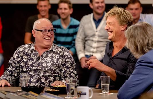 Wim Kieft aan tafel bij Voetbal Inside.