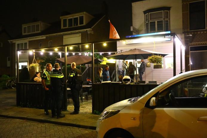 Cafetaria Het Anker in Nieuwegein was het doelwit van de jeugdige overvallers uit Limburg.