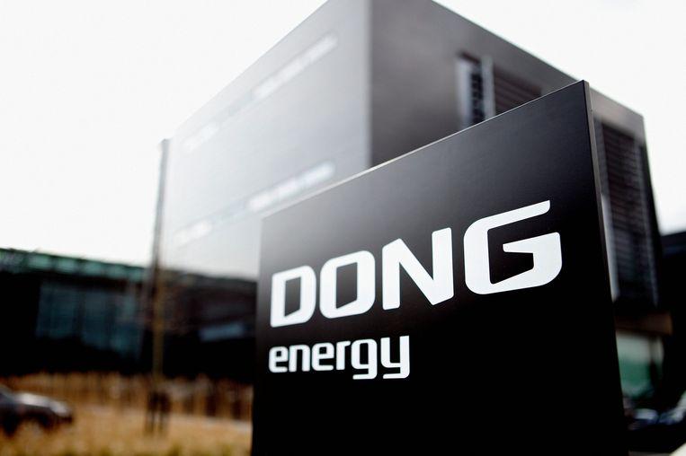 Een kantoor van Dong Energy in thuisland Denemarken. Beeld EPA
