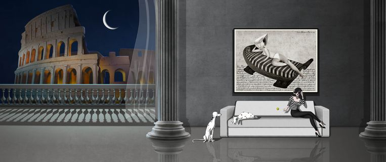 Ruben Brandt, Collector toont een niet-aflatende stroom visuele vondsten. Beeld Ruben Brandt, Collector