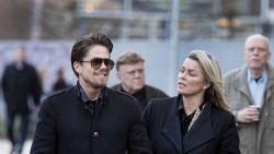 André Hazes vergezelt zijn nieuwe vriendin Bridget naar de rechtbank: nu eist ook zij 7.500 euro van weekblad Privé