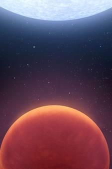Net ontdekte planeet is bijzonder heet