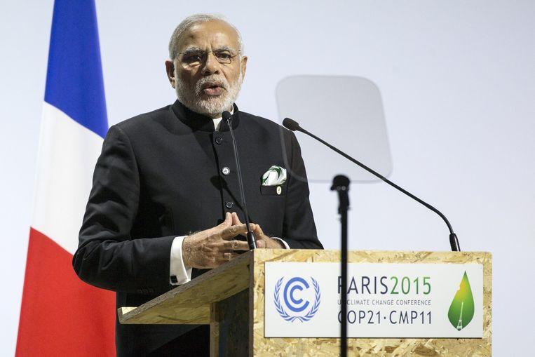 De Indiase premier Narendra Modi. Beeld epa