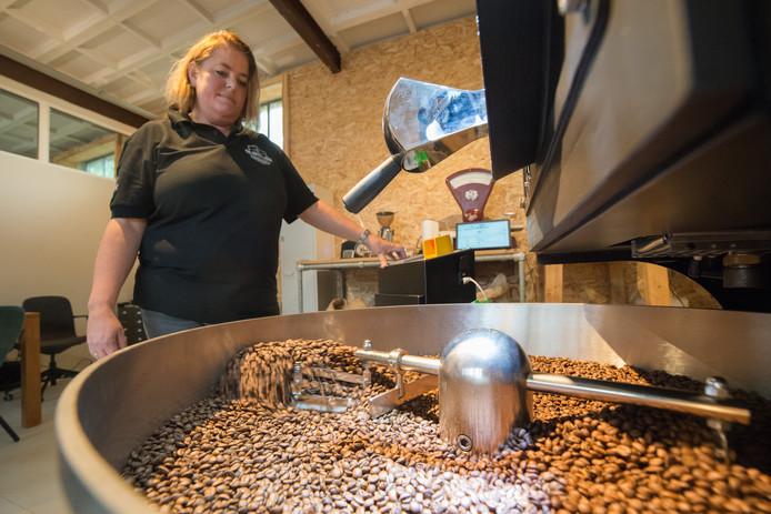 Harderwijk - The Coffee Lodge op de foto Lucienne Breemer