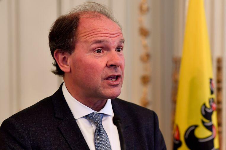 Vlaams minister Philippe Muyters (N-VA).