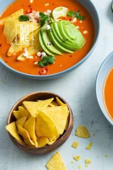 Wat Eten We Vandaag: Mexicaanse tortillasoep met kip
