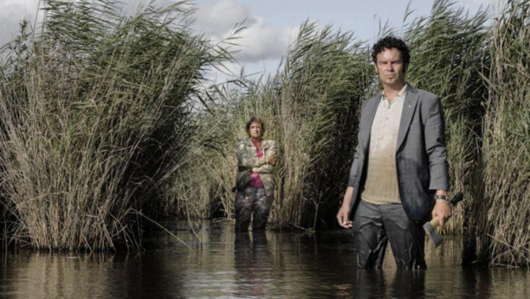 Still uit de nieuwe film van Alex van Warmerdam Schneider vs. Bax. Beeld null