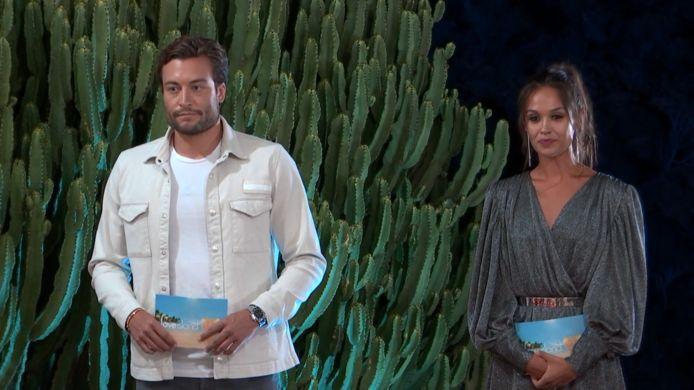 'Love Island'-presentatoren Viktor Verhulst en Holly Mae Brood.
