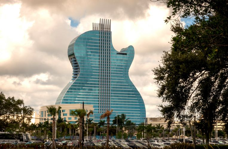 Het Seminole Hard Rock Hotel & Casino.