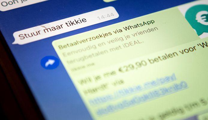 De Tikkie-app