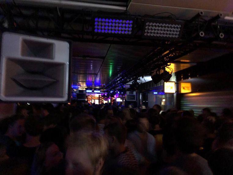 De Belgische dj Charlotte de Witte is niet vies van het harde werk. Beeld Desiree Schouteten