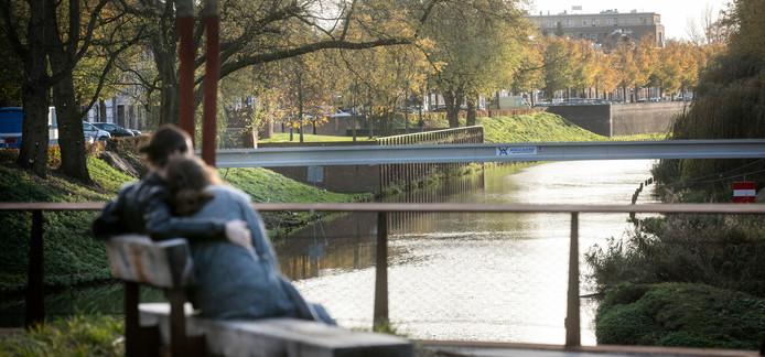 In de Stadsdommel is het waterpeil onlangs verhoogd als buffer tijdens de droogte.