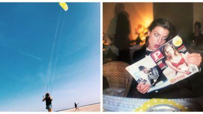 SHOWBITS. Vliegeren met Eva en Ella in de P(-magazine)