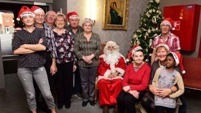De Kerstman op bezoek in Kesterberg