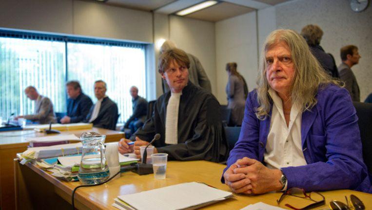 Joop Schafthuizen in de rechtbank . © anp Beeld