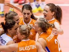 Volleybalsters tonen veerkracht en verslaan België