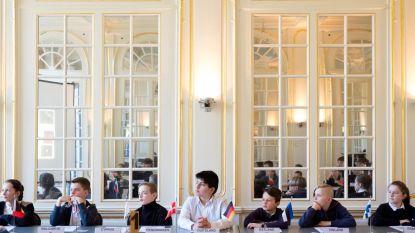 Leerlingen worden even ministers tijdens Europaweken