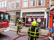 Brand bij Kip 't Simpel op Steegoversloot: barbecue in vlammen op