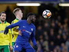 Negen man Chelsea pas na strafschoppen langs Norwich