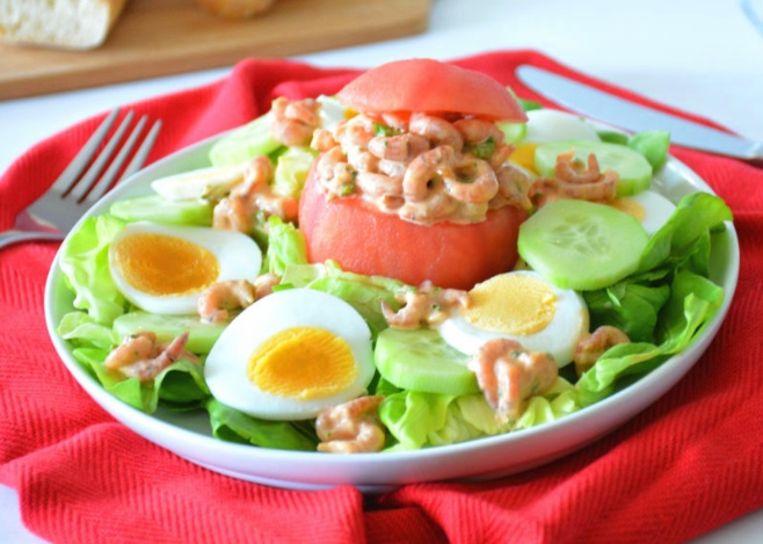 tomaat garnaal