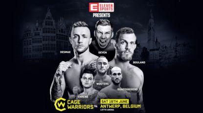 Cage Warriors terug in België: nog meer spektakel op komst?