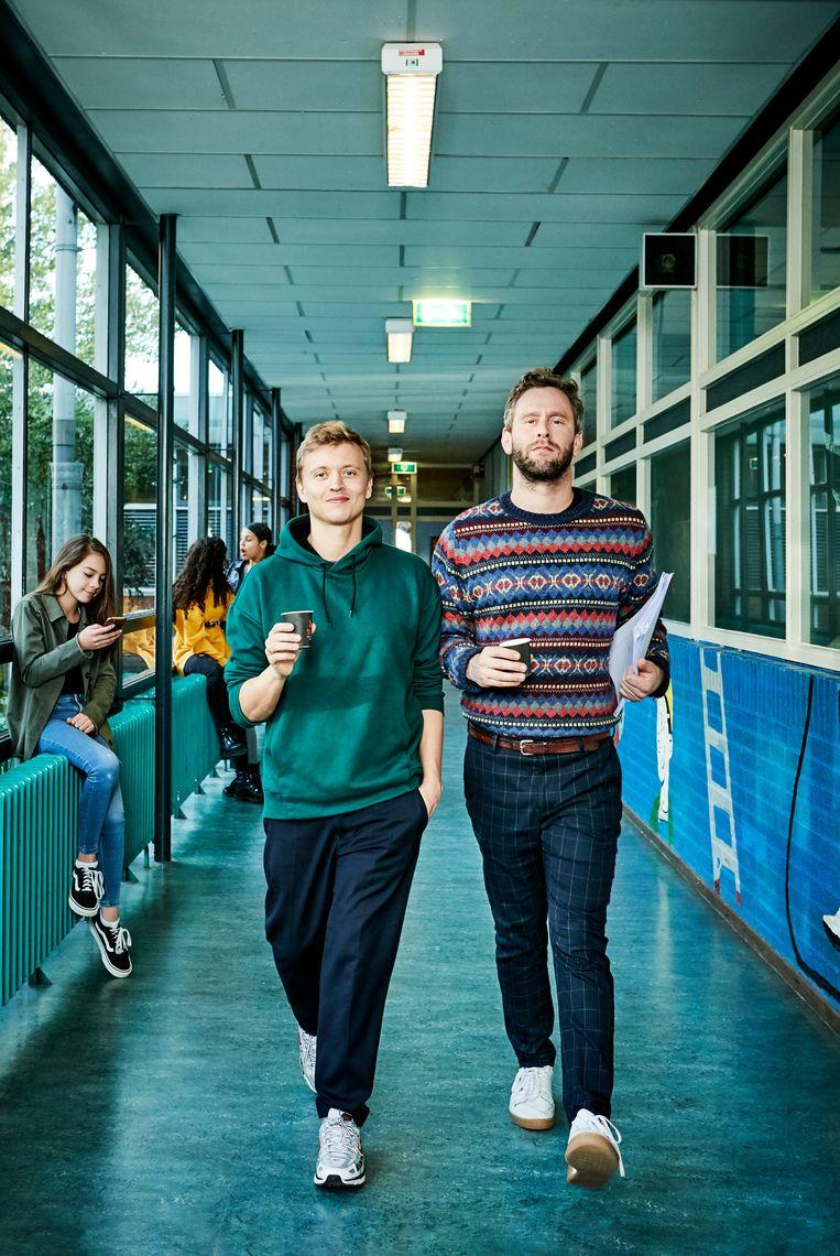 Nicolaas Veul en Tim den Besten Beeld VPRO