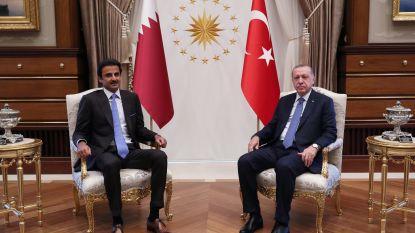 Qatar belooft 15 miljard dollar investeringen in Turkije