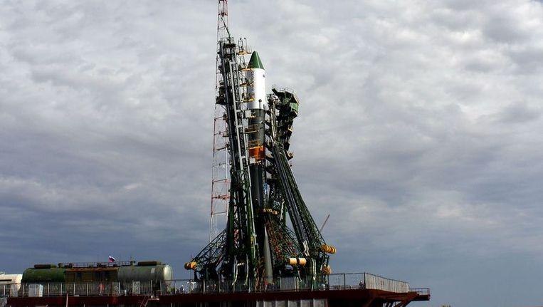 Het ruimtevrachtschip de Progress M-16M. Beeld afp