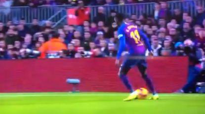 Ongelooflijke actie van Dembélé gaat de wereld rond: Franse winger pakt uit met vijf soortgelijke bewegingen op enkele seconden tijd, Barça verslaat Villarreal