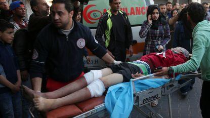 Israël opent vuur op Palestijnse betogers: twee doden en minstens 55 gewonden