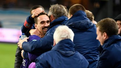 VIDEO. De nachtmerrie vermeden: Kums en Didillon schenken Anderlecht play-off 1 na zege tegen KV Kortrijk
