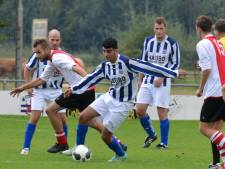 Topscorers: Marcel van der Heijden (GVV) in top-drie