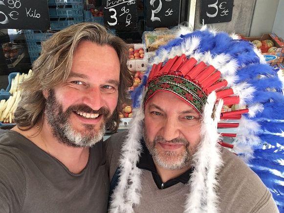 Kurt Burgelman met Buffalo Bayram